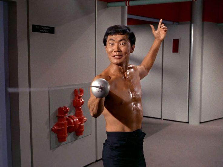 """George Takei as Hikaru Sulu in """"Star Trek"""" (Image: Paramount/CBS)"""
