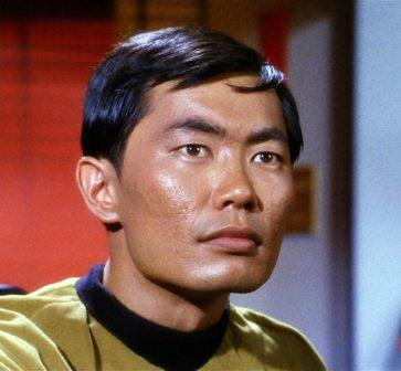 George Takei as Hikaru Sulu (Image: Paramount/CBS)